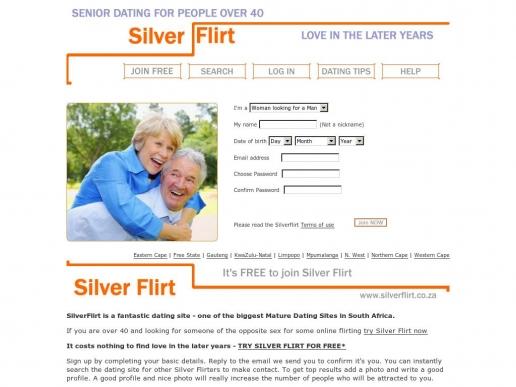 silverflirt.co.za thumbnail