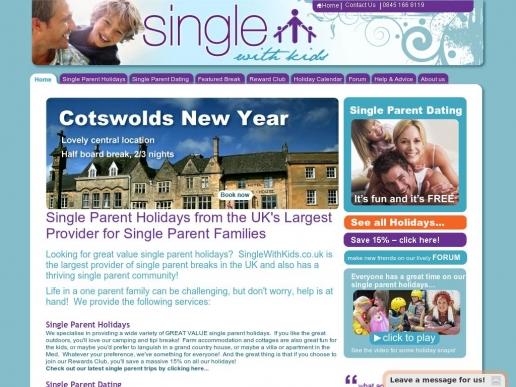 singlewithkids.co.uk thumbnail