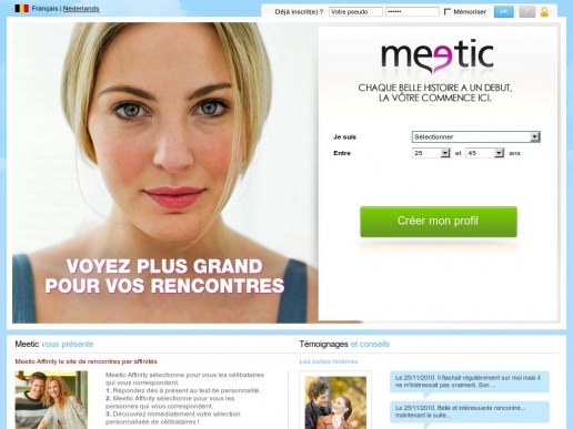 meetic.be thumbnail