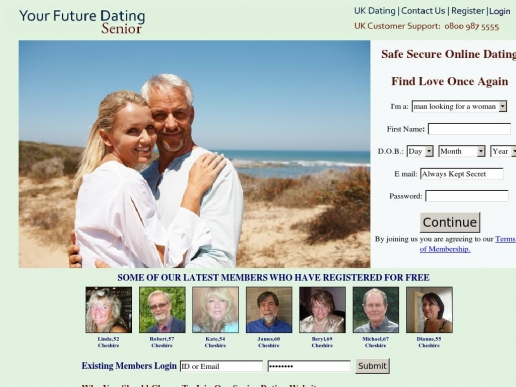 senioryourfuturedating.co.uk thumbnail