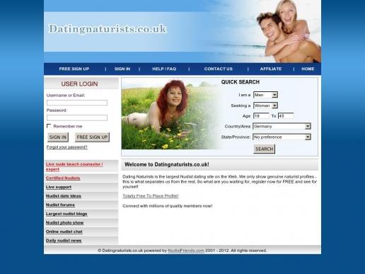datingnaturists.co.uk thumbnail