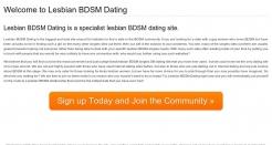 lesbianbdsmdating.com thumbnail