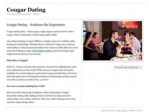 cougardating.net thumbnail