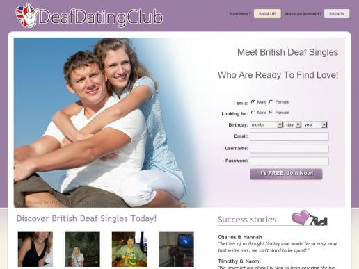 deafdatingclub.co.uk thumbnail