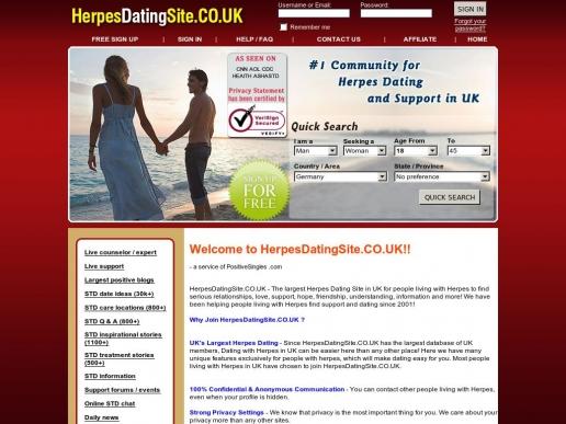 HerpesDatingSite.co.uk thumbnail