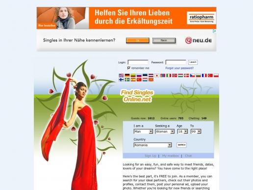 findsinglesonline.net thumbnail