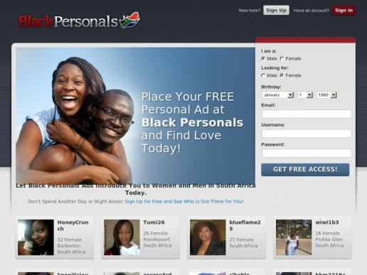 blackpersonals.co.za thumbnail