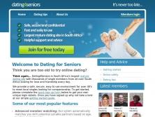 dating4seniors.co.za thumbnail