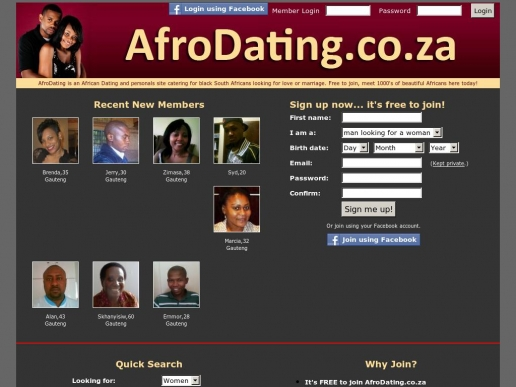 afrodating.co.za thumbnail