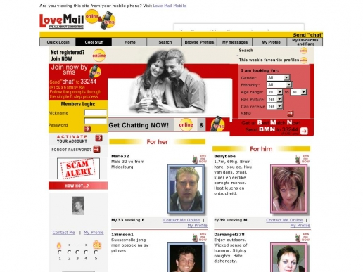 lovemail.co.za thumbnail