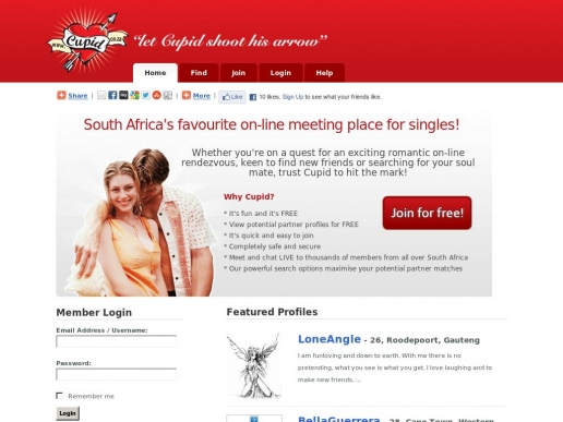 cupid.co.za thumbnail