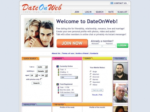 dateonweb.net thumbnail