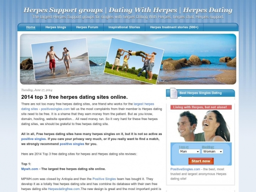 herpessupport.org thumbnail