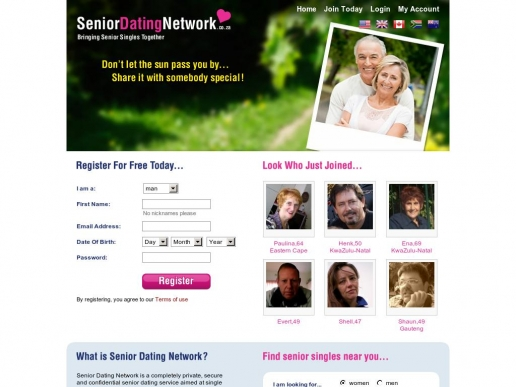 seniordatingnetwork.co.za thumbnail