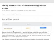 datingaffiliate.info thumbnail
