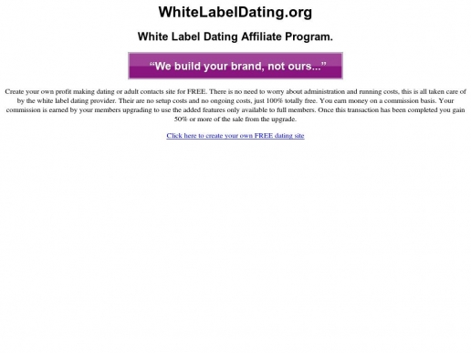 whitelabeldating.org thumbnail