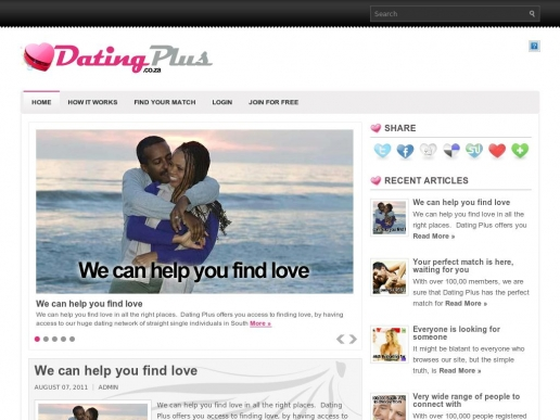datingplus.co.za thumbnail