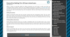 executiveafrican-americandating.com thumbnail