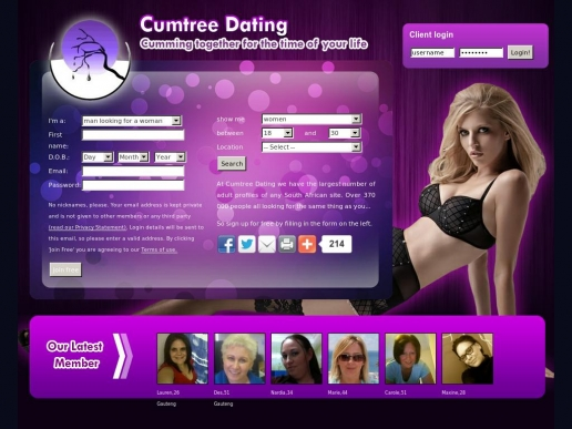 cumtreedating.co.za thumbnail